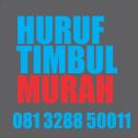 IKLAN PAPAN NAMA NEONBOX HURUF TIMBUL MURAH DI JOGJAKARTA