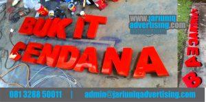 Jasa Advertising Jogja Huruf Timbul Galvanis Bukit Cendana Di Yogya