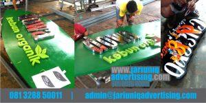 Jasa Advertising Jogja Huruf Timbul Galvanis Dowa Di Yogya