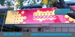 Jasa Advertising Jogja Neon Box Indosat Di Yogyakarta