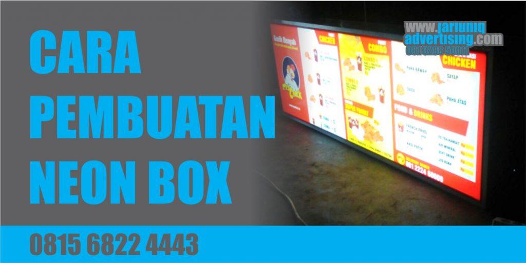 Jasa Advertising Jogjakarta Neon Box Yogya